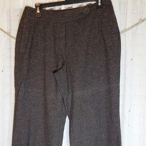 J. Jill tweed Genuine Fit Stretch pant size 8